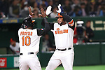 Wladimir Balentien (NED), <br /> MARCH 12, 2017 - WBC : <br /> 2017 World Baseball Classic <br /> Second Round Pool E Game <br /> between Japan - Netherlands <br /> at Tokyo Dome in Tokyo, Japan. <br /> (Photo by YUTAKA/AFLO SPORT)
