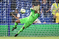 Chelsea goalkeeper, Rob Green saves a penalty in the shoot out during Chelsea vs Lyon, International Champions Cup Football at Stamford Bridge on 7th August 2018