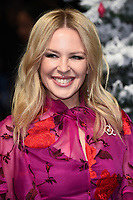 "LONDON, UK. November 11, 2019: Kylie Minogue arriving for the ""Last Christmas"" premiere at the BFI Southbank, London.<br /> Picture: Steve Vas/Featureflash"