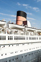 The Queen Mary, Long Beach, California. Greater Los Angeles area.