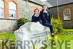 Presentation Secondary School, Castleisland students enjoyed  Wellness Week Pictured Grace daly and Lauren Butler