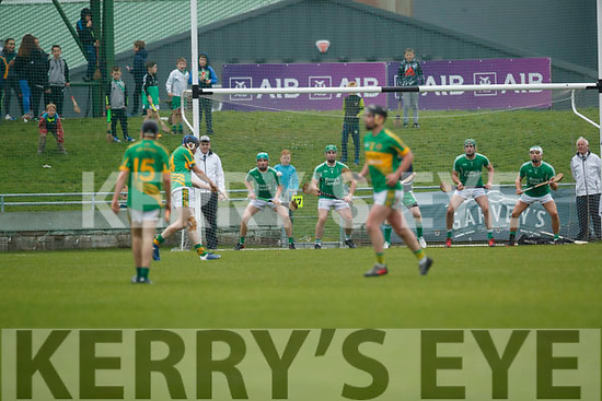 Ballyduff in action against  Lixnaw in the Senior County Hurling Final in Austin Stack Park on Sunday