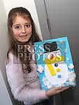 Julia Kuzniska at Drogheda Library's winter arts and crafts workshop.<br /> <br /> Photo - Jenny Matthews