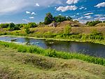 Łąki nad Biebrzą, okolice Osowca, Polska<br /> Meadows over Biebrza, near Osowiec, Poland