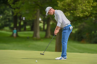 Brandon Stone (RSA) watches his putt on 1 during 1st round of the World Golf Championships - Bridgestone Invitational, at the Firestone Country Club, Akron, Ohio. 8/2/2018.<br /> Picture: Golffile | Ken Murray<br /> <br /> <br /> All photo usage must carry mandatory copyright credit (&copy; Golffile | Ken Murray)