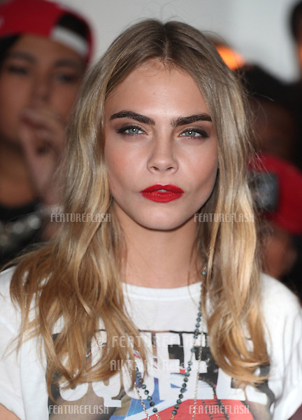 Cara Delevingne arriving for the 013 Glamour Awards, Berkeley Square, London. 04/06/2013 Picture by: Alexandra Glen / Featureflash