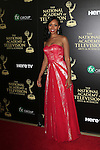 BEVERLY HILLS - JUN 22: Mishael Morgan at The 41st Annual Daytime Emmy Awards at The Beverly Hilton Hotel on June 22, 2014 in Beverly Hills, California