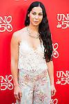 Katy Sanchez attend to the 20th anniversary of UNOde50 at Palacio de Saldaña in Madrid. June 09. 2016. (ALTERPHOTOS/Borja B.Hojas)