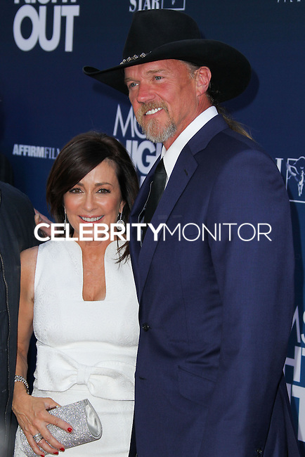 "HOLLYWOOD, LOS ANGELES, CA, USA - APRIL 29: Patricia Heaton, Trace Adkins at the Los Angeles Premiere Of TriStar Pictures' ""Mom's Night Out"" held at the TCL Chinese Theatre IMAX on April 29, 2014 in Hollywood, Los Angeles, California, United States. (Photo by Xavier Collin/Celebrity Monitor)"