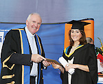 24/10/2014    Pictured at the recent MIC graduations was  . Lisa-Jayne O&rsquo;Malley<br /> Close to 1000 students from 23 counties and 3 continents were conferred with academic awards across the College&rsquo;s 27 programmes in addition to 13 students being conferred with PhD awards.Picture Liam Burke/Press 22