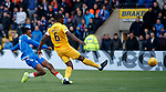 10.11.2019: Livingston v Rangers: Joe Aribo opens the scoring