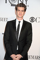 Andrew Garfield at the 66th Annual Tony Awards at The Beacon Theatre on June 10, 2012 in New York City. Credit: RW/MediaPunch Inc. NORTEPHOTO.COM