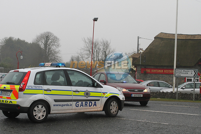 Co.Louth Man Shot in the carpark of The Huntsman Inn in Gormanstown, Co.Meath...Photo NEWSFILE
