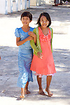 Young Girls, Shwezigon Pagoda