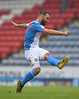 Blackburn Rovers' Adam Armstrong<br /> <br /> Photographer Dave Howarth/CameraSport<br /> <br /> The EFL Sky Bet Championship - Blackburn Rovers v Reading - Saturday 18th July 2020 - Ewood Park - Blackburn<br /> <br /> World Copyright © 2020 CameraSport. All rights reserved. 43 Linden Ave. Countesthorpe. Leicester. England. LE8 5PG - Tel: +44 (0) 116 277 4147 - admin@camerasport.com - www.camerasport.com