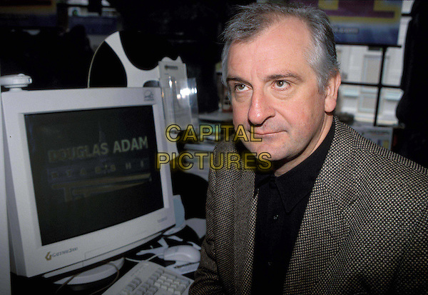 DOUGLAS ADAMS.author, computer.Ref: 7216.sales@capitalpictures.com.www.capitalpictures.com.© Capital Pictures