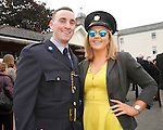 10/09/2015<br /> Garda Peter Byrne from Raheny, Dublin pictured with girlfriend Orla Bassett at the Garda Graduation Ceremony at the Garda College, Templemore, Co. Tipperary.<br /> Pic: Press 22