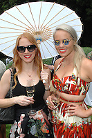 Brynn Cameron, Kelsey Lee Offield==<br /> LAXART 5th Annual Garden Party Presented by Tory Burch==<br /> Private Residence, Beverly Hills, CA==<br /> August 3, 2014==<br /> ©LAXART==<br /> Photo: DAVID CROTTY/Laxart.com==