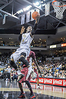 November 13, 2013 - Orlando, FL, U.S: UCF guard Isaiah Sykes (3) drives to the basket during 2nd half mens NCAA basketball game action between the Florida State Seminoles and the UCF Knights. FSU defeated UCF 80-68 at the CFE Arena in Orlando, Fl.