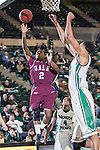 Arkansas Little Rock Trojans guard John Gillon (2) in action during the game between the Arkansas Little Rock Trojans and the North Texas Mean Green at the Super Pit arena in Denton, Texas. UALR defeats UNT 62 to 57...