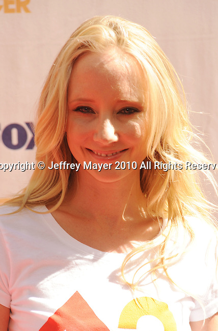 CULVER CITY, CA. - September 10: Anne Heche arrives at Stand Up To Cancer at Sony Pictures Studios on September 10, 2010 in Culver City, California.
