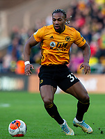 Wolverhampton Wanderers' Adama Traore<br /> <br /> Photographer Alex Dodd/CameraSport<br /> <br /> The Premier League - Wolverhampton Wanderers v Norwich City - Sunday 23rd February 2020 - Molineux - Wolverhampton<br /> <br /> World Copyright © 2020 CameraSport. All rights reserved. 43 Linden Ave. Countesthorpe. Leicester. England. LE8 5PG - Tel: +44 (0) 116 277 4147 - admin@camerasport.com - www.camerasport.com