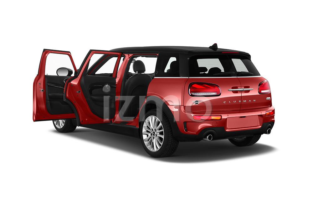 Car images close up view of a 2020 Mini Clubman S 5 Door Wagon doors