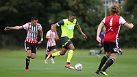 Colin Quaner of Huddersfield Town in action during Brentford B vs Huddersfield Town Under-23, Friendly Match Football at Brentford FC Training Ground, Jersey Road on 12th September 2018