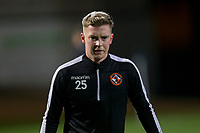 8th November 2019; Dens Park, Dundee, Scotland; Scottish Championship Football, Dundee Football Club versus Dundee United; Adam King of Dundee United during the warm up before the match  - Editorial Use