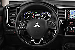 Car pictures of steering wheel view of a 2016 Mitsubishi Outlander Intense Premium 5 Door SUV Steering Wheel
