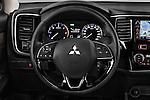 Car pictures of steering wheel view of a 2016 Mitsubishi Outlander Intense Premium 5 Door SUV Steering Wheel