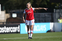 Leah Williamson of Arsenal during Arsenal Women vs West Ham United Women, Barclays FA Women's Super League Football at Meadow Park on 8th September 2019