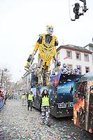 """Transformer Wagen von """"Die Spaller"""" - Rosenmontagsumzug in Mainz"""