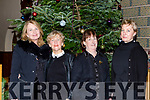 Lucy Crowe, Geraldine Stack, Mary Foley all Tralee and Eva McKenna Ardfert who performed in Handels Messiah with the Kerry Chamber Choir and Orchestra in the Franciscan Friary Killarney on Sunday night