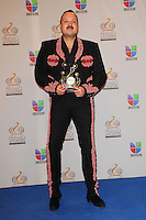 Pepe Aguilar in the pressroom at Univision's Premio Lo Nuestro a La Musica Latina at American Airlines Arena on February 16, 2012 in Miami, Florida. © mpi10/MediaPunch Inc