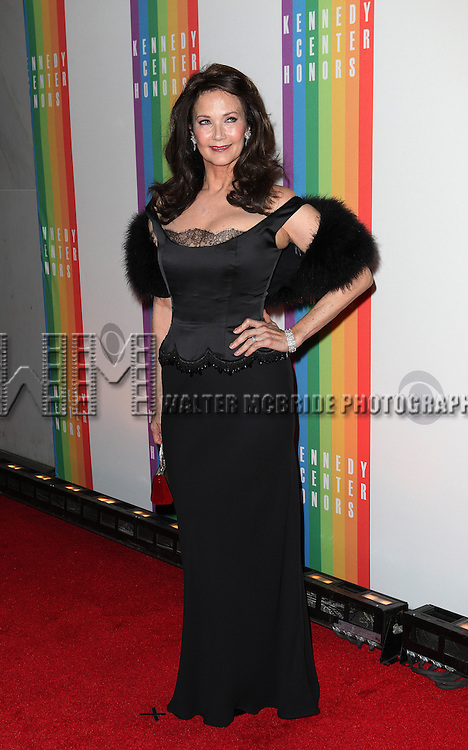 Lynda Carter attending the 35th Kennedy Center Honors at Kennedy Center in Washington, D.C. on December 2, 2012