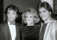 Matt Lattanzi Olivia Newton John and John Stamos circa 1980's<br /> Photo By Jesse Nash/PHOTOlink