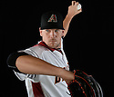 Arizona Diamondbacks Andrew Chafin (40) during photo day on February 28, 2016 in Scottsdale, AZ.