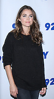NEW YORK, NY-October 30:  Keri Russell at 92Y presents FX's series The Americans at 92nd Street Y in New York.October 30, 2016. Credit:RW/MediaPunch