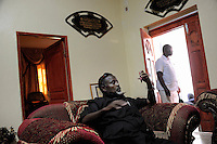 "Mogadishu/Somalia 2012 - The Mayor of Mogadishu, Mohamed Noor, also nicknamed ""Tarzan"", in his private house in the city."