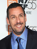 NEW YORK, NY - OCTOBER 01: Adam Sandler attends the New York Film Festival screening of The Meyerowitz Stories (New and Selected) at Alice Tully Hall on October 1, 2017 in New York City. <br /> CAP/MPI/JP<br /> &copy;JP/MPI/Capital Pictures
