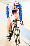 Joseph Truman of the Great Britain team competes in the Men's Keirin - 2nd Round as part of the 2017 UCI Track Cycling World Championships on 13 April 2017, in Hong Kong Velodrome, Hong Kong, China. Photo by Marcio Rodrigo Machado / Power Sport Images
