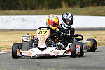 NELSON, NEW ZEALAND - FEBRUARY 26: Kartsport Nelson club points round 1 at Redwood raceway on February 26, 2017 in Nelson, New Zealand. (Photo by: Chris Symes/Shuttersport Limited)