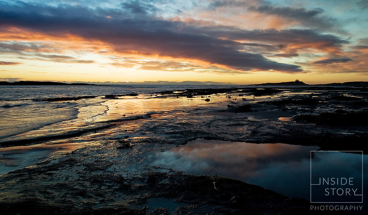 Dunstanburgh Castle at Dawn 2