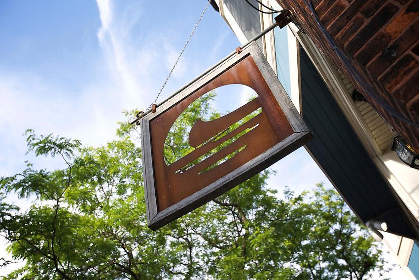 Geneva, NY - June 22, 2016: Lake Drum Brewing in Downtown Geneva.<br /> <br /> CREDIT: Clay Williams.<br /> <br /> &copy; Clay Williams / claywilliamsphoto.com