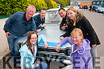 VINTAGE RUN: Admiring the vintage cars in Sneem village last Saturday afternoon during the KVV&CCC annual vintage Ring of Kerry run were l-r: Sarah and Brendan Shanahan, Stephen O'Connell, Jerry Brosnan, Jennifer Conway and Margaret Shanahan (all Tralee and Abbeydorney).