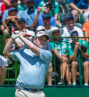 Robert Macintyre (SCO) on the 1st tee during the first round at the Nedbank Golf Challenge hosted by Gary Player,  Gary Player country Club, Sun City, Rustenburg, South Africa. 14/11/2019 <br /> Picture: Golffile | Tyrone Winfield<br /> <br /> <br /> All photo usage must carry mandatory copyright credit (© Golffile | Tyrone Winfield)