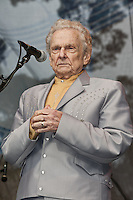 Ralph Stanley photographed at the Hardly Strictly Blue Grass Festival in Golden Gate Park in San Francisco, CA October 2, 2011©Jay Blakesberg/MediaPunch