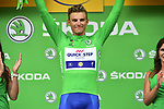 Marcel Kittel (GER) Quick-Step Floors retains the Green Jersey at the end of Stage 9 of the 104th edition of the Tour de France 2017, running 181.5km from Nantua to Chambery, France. 9th July 2017.<br /> Picture: ASO/Pauline Ballet | Cyclefile<br /> <br /> <br /> All photos usage must carry mandatory copyright credit (&copy; Cyclefile | ASO/Pauline Ballet)