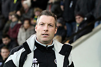 Millwall manager  Neil Harris during Norwich City vs Millwall, Sky Bet EFL Championship Football at Carrow Road on 1st January 2018
